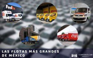 Las empresas con las flotas más grandes de México - Corporate Car