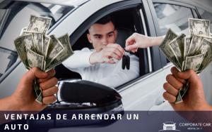 ventajas de arrendar un auto